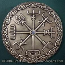 brass vegvisir viking compass by vegvisir on deviantart