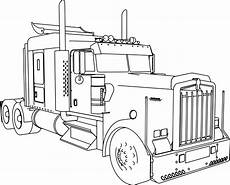 truck coloring pages 16521 kenworth w900 l trailer truck coloring page wecoloringpage