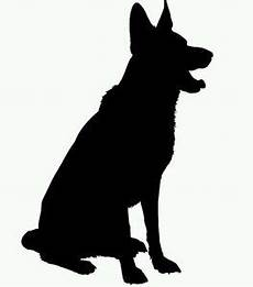 Free Business Cards Templates German Shepherd Silhouette German Shepherd Silhouette At Getdrawings Free