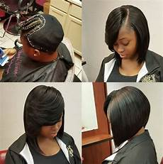 nice quick weave bob via shayes dvine perfection black