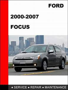 service and repair manuals 2000 ford focus instrument cluster ford focus 2000 to 2007 factory workshop service repair manual do