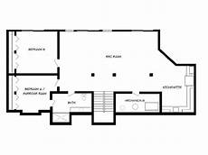 ranch house floor plans with basement lake house plan basement floor plans ranch house floor