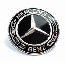 Tapon Emblema De Capot Mercedes Black Edtion