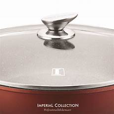 swiss koch kitchen collection imperial collection im lc3210st low casserole granit