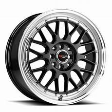 Drag Wheels by Drag Dr 44 Wheels Mesh Painted Passenger Wheels