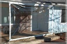 Clear Tarp For Patio | 6 x 8 clear tarp 24 mil clear vinyl patio enclosure new made in usa ebay