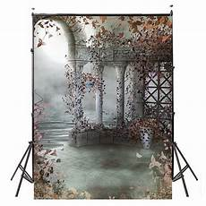 5x2m 5x7ft View Vinyl Photography Background by 5x7ft Vinyl Retro Flower Tale Photography Background