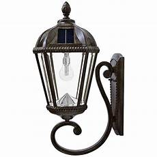 royal bulb 21 quot h bronze solar led outdoor wall light 13x10 ls plus