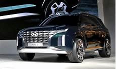 hyundai size suv 2020 2020 hyundai palisade size suv set for 2018 la auto show