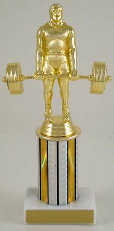 Power Lifter Trophy On Column Schoppy S Since 1921