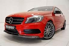 Brabus Mercedes A Klasse Der Sportliche Angriff Speed Heads