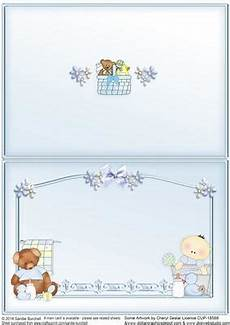 worksheets for time 18588 new baby boy pocket card matching insert cup532894 425 craftsuprint
