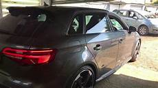 audi retrofits 2016 audi rs3 with brand new led facelift