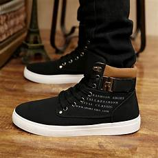 Boots Homme Mode New 2014 Casual Ankle Boots For Canvas Sport