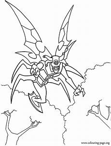 malvorlagen ultimate ben 10 stinkfly coloring page