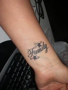 Familygirl Family Familien Tattoos Ideen