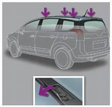 barre de toit 5008 peugeot 5008 pose des barres de toit informations pratiques