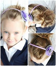 10 easy little girls hairstyles ideas you can do in 5 minutes or less