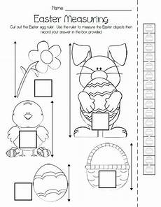 free non standard measurement worksheets for kindergarten 1865 printable easter measuring activity kindergarten activities measurement activities