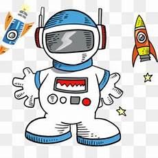 Astronot Unduh Gratis Stiker Dinding Luar Angkasa