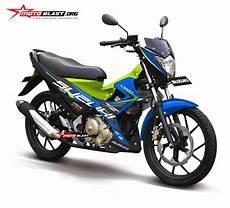 Modifikasi Fu 2014 by Modifikasi Striping Satria Fu 2014 Blue Energy Motoblast