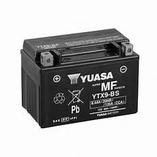 Batterie Moto Yuasa Ytx9 Bs 12v 8 4ah 135a