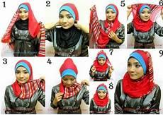 Tips Cara Memakai Jilbab Terbaru Untuk Wajah Bulat