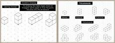 a powerpoint math or maths presentation isometric drawing