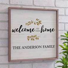 personalized home decor personalized welcome to our home wood pallet wall decor