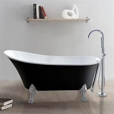 baignoire pied de baignoire ilot noir pied de en vente en ligne pas cher