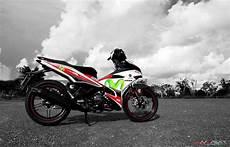 Modifikasi Mx King Movistar by Movistar Yamaha Jupiter Mx King 150 Modifikasi