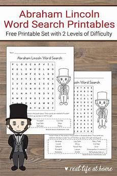 time worksheets 3023 free abraham lincoln word search printable for in 2020 abraham lincoln for