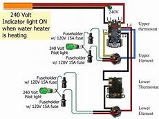Electric Water Heater Wiring Diagram For 240v Wiring Forums