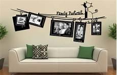 disegni per pareti soggiorno decorare una parete con le foto idee per arredare con le