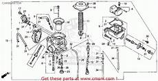 Honda Trx450es Fourtrax Foreman Es 1998 W Usa Carburetor