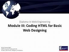 diwe coding html for basic web designing