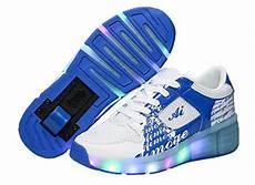 leucht schuhe mit rollen pamray sneaker schuhe mit rollen blau schuhe mit