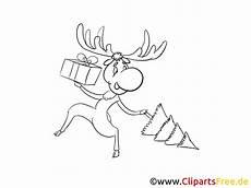 Malvorlagen Elch Weihnachten Moose For Picture For Coloring