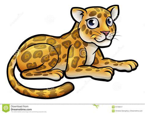 Leopard Tecknad