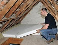 dach nachträglich isolieren hochwertige baustoffe warmedammung dachboden anleitung