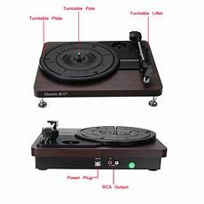 Shenle 33rpm Antique Gramophone Turntable Disc by Turntables Shenle 33rpm Antique Gramophone Turntable
