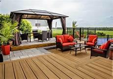 Terrasse Beton Teinté Texture Convivialit 233 Cour Arri 232 Re Piscine Spa