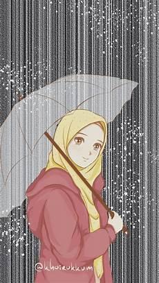 60 Gambar Kartun Muslimah Berhijab Lucu Terbaru Server