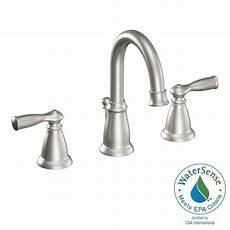 moen banbury 2 handle widespread bathroom faucet in spot
