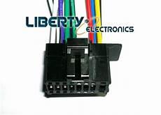 new 16 wire plug harness for pioneer mvh x370bt ebay