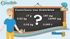 Gewicht Umrechnen Kg G Mg Tonne Klasse 5 220 Bung 2