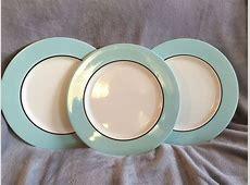 Pagnossin Audrey Treviso Robin Egg Blue Dinner Plates Set