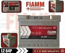 l264p batteria auto fiamm titanium pro 64ah 610a polo positivo a destra ebay