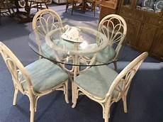 Rattan Kitchen Furniture Rattan Kitchen Or Patio Table With 4 Chairs For Sale In