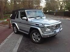 mercedes g occasion mercedes classe g g 500 cabriolet occasion essence 224 mulhouse 68 233 e 2012 annonce n 176 13915735